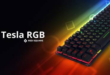 Обзор игровой клавиатуры Red Square Tesla RGB