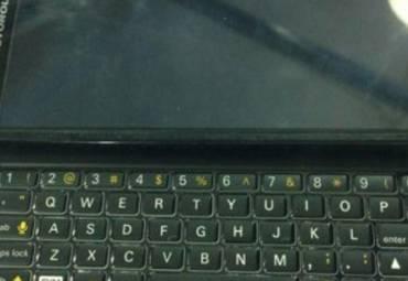 В сеть попали фото слайдера Motorola Droid 5 с физической клавиатурой