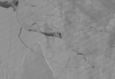 От Антарктиды откололся кусок массой 1 триллион тонн
