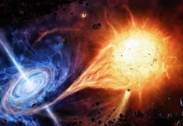 Обнаружен микроквазар, испускающий мощное гамма-излучение