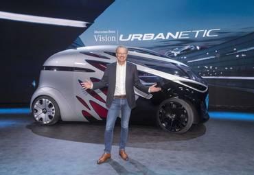 Mercedes-Benz представила концепт модульного автомобиля будущего