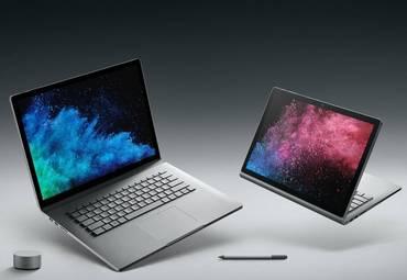 Microsoft Surface Book 2 и Surface Laptop: объявлены новые доступные варианты