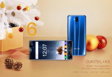 Как получить смартфон OUKITEL K6 совершенно бесплатно